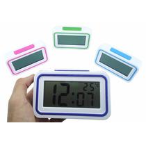Relógio Despertador Digital Alarme Temperatura Kenko Com Voz