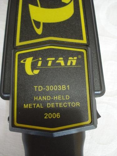 Detector De Metais Portátil P/ Armas Facas E Metal