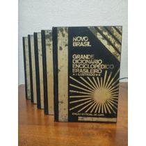 Grande Dicionário Enciclopédico Brasileiro Luxo 5 Vol - 1978