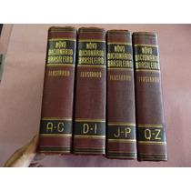 Novo Dicionário Brasileiro Ilustrado Melhoramentos 4 Vols