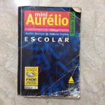 Livro Mini Aurélio Língua Portuguesa Escolar Século Xxi