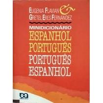 Livro- Mini Dicionário-espanhol/ Português- Frete Gratis