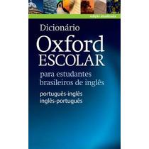 Dicionario Oxford Escolar Ing-port/ Port-ing