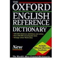 The Oxford English Reference Dictionary Second Edition