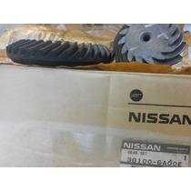 Nissan Murano Coroa E Pinhão Diferencial Tras 38100-ca00e
