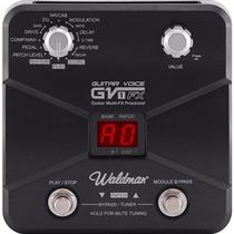 Pedaleira Para Guitarra Waldman Gv1-fx Nova (loja)