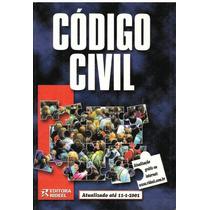 Código Civil Atualizado Até 11/1/2001 - Pague Com Cartão
