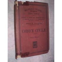 Manual Hoepli Codigo Civil Prof L Pranchi 1925