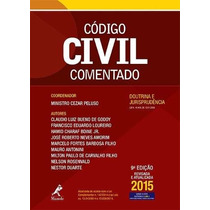 Código Civil Comentado 2015 9ª Ed - Min. Peluso + Brinde Cpc
