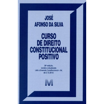 Curso De Direito Constitucional Positivo-38ª Ed.2015afonso