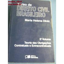 Livro Curso De Direito Civil Brasileiro Maria Diniz L
