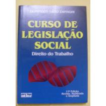 Curso De Legislação Social; Direito Do Trabalho