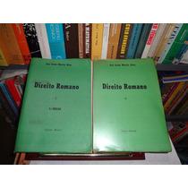 Direito Romano Vol. 1 E 2 - José Carlos Moreira Alves-1969