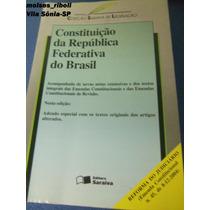 Livro Constituição Da República Federativa Do Brasil ?