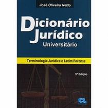 Dicionário Jurídico Universitário 5° Edição - Frete Grátis
