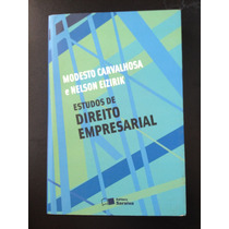 Livro Estudos De Direito Empresarial - Editora Saraiva