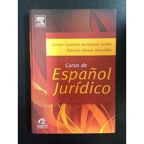 Livro Curso De Español Jurídico - Editora Campus Jurídico