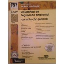 Coletânea De Legislação Ambiental E Constituição Federal