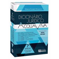 Dicionário Jurídico Rideel Acquaviva - Atualizado!!