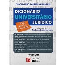 Dicionário Universitário Jurídico 19 Edição