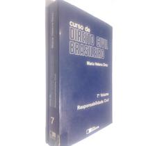 Livro Curso De Dir Civil Brasileiro - 7º Vol - Maria H Diniz