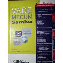 Livro + Cd Original Vade Mecum 2011 Saraiva 12ª Edição - Lui