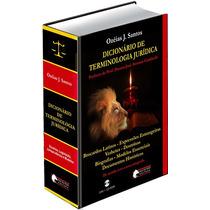 Dicionário De Terminologia Jurídica C/cd-rom Ozéias J Santos