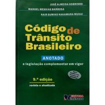 Código De Trânsito Brasileiro Anotado - J. Almeida Sobrinho