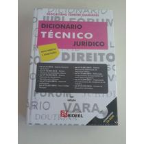 Dicionário Técnico Juricido C/ Cd Rom 16ª Ed. Guimarães