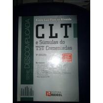 Clt E Súmulas Do Tst Comentadas - 9ª Edição