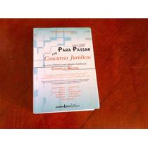 Livro Para Passar Em Concursos Jurídicos Elpídio Donizetti