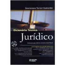 Dicionário Técnico Jurídico 12 Edição 2009 - Rideel