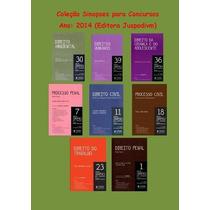 Coleção Sinopses Para Concursos - Juspodivm - 2014