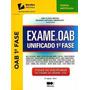 Exame Da Oab Unificado Oab 1ª Fase - 5ª Ed. 2015 -ana Flavia