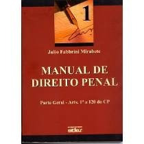 Livro Manual De Direito Penal De Julio Fabbrini Mirabete