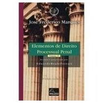 Elementos Direito Processual Penal- 4 Vol- Frederico Marques