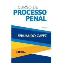 Curso De Processo Penal - 23ª Ed. 2016 Fernando Capez,