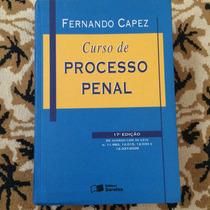 Livro - Curso De Processo Penal - Fernando Capez
