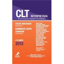 Clt Interpretada 4ª Ed. 2013 - Costa Machado