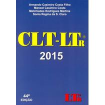 Clt - Ltr - 44ª Ed. 2015