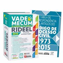 Vade Mecum Acadêmico De Direito Rideel 2016 - 22° Edição
