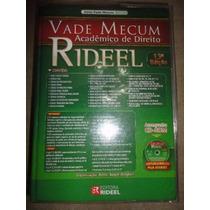 Livro Vade Mecum - Rideel - Usado - Frete Grátis