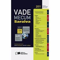 Livro Vade Mecum Saraiva 2011 Com O Cd Original