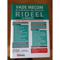 Vade Mecum Acadêmico De Direito Rideel - 2012 2º Semestre 15
