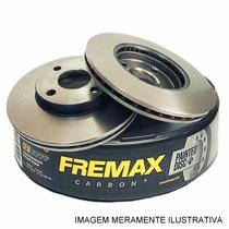 Par Disco Freio Dianteiro Toyota Corolla 03/08 Fremax Carbon