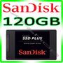 Hd Ssd 120gb Sandisk Plus - 520mb/s Sata 3 *** Original ***