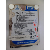 Hd 160gb Western Wd160bevt 2,5 Notebook Sata C/ Defeito