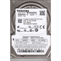 Hd 250gb Toshiba Hdd2h24 Sata Pra Notebook Frete Gratis!!!
