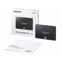 Ssd Samsung 750 Evo 250gb 3d V-nand Sata3