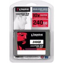Hd Ssd 240 Gb Sata 3 Kingston V300 - 450 Mb/s 10x + Rápido